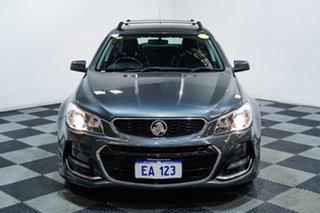 2017 Holden Commodore VF II MY17 SV6 Grey 6 Speed Automatic Sportswagon.