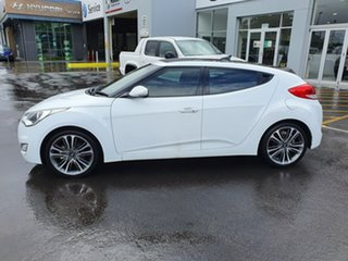 2016 Hyundai Veloster FS4 Series II + Coupe D-CT White 6 Speed Sports Automatic Dual Clutch