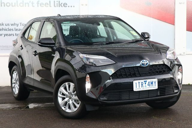 Pre-Owned Toyota Yaris Cross MXPJ10R GX 2WD Ferntree Gully, 2021 Toyota Yaris Cross MXPJ10R GX 2WD Ink 1 Speed Constant Variable Wagon Hybrid