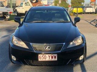 2006 Lexus IS GSE20R IS250 Sports Black 6 Speed Sports Automatic Sedan.