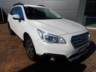 2016 Subaru Outback B6A MY17 2.5i CVT AWD White 6 Speed Constant Variable Wagon.