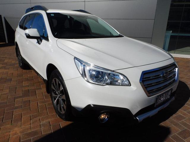 Used Subaru Outback B6A MY17 2.5i CVT AWD Toowoomba, 2016 Subaru Outback B6A MY17 2.5i CVT AWD White 6 Speed Constant Variable Wagon