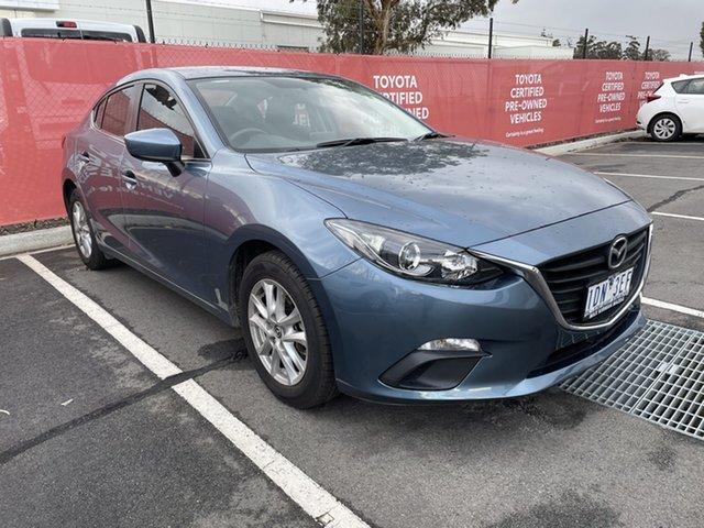 Pre-Owned Mazda 3 BM5278 Maxx SKYACTIV-Drive South Morang, 2014 Mazda 3 BM5278 Maxx SKYACTIV-Drive Blue 6 Speed Sports Automatic Sedan