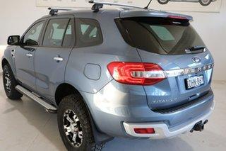 2016 Ford Everest UA Titanium Grey 6 Speed Sports Automatic SUV.