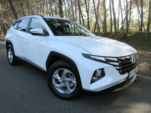 Used Hyundai Tucson NX4.V1 MY22 2WD Reynella, 2021 Hyundai Tucson NX4.V1 MY22 2WD White Cream 6 Speed Automatic Wagon