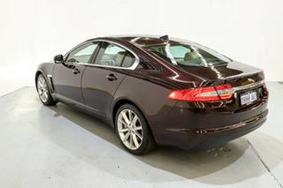 2013 Jaguar XF X250 MY13 Premium Luxury Maroon 8 Speed Sports Automatic Sedan