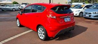 2010 Ford Fiesta WS Zetec Red 5 Speed Manual Hatchback