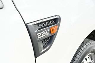 2014 Ford Ranger PX XL White 6 Speed Manual Utility.