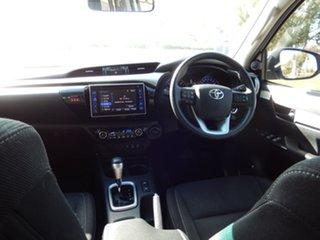 2016 Toyota Hilux GUN126R SR5 (4x4) Glacier White 6 Speed Automatic Dual Cab Utility