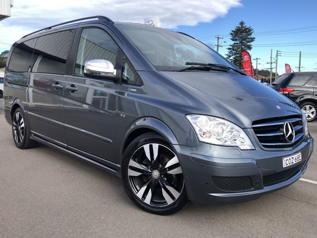 Pre-Owned Mercedes-Benz Viano 639 MY12 BlueEFFICIENCY Cardiff, 2013 Mercedes-Benz Viano 639 MY12 BlueEFFICIENCY Grey 5 Speed Automatic Wagon