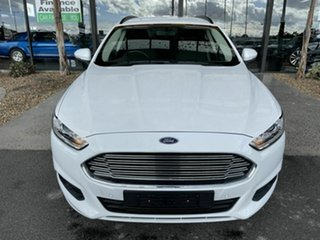 2016 Ford Mondeo MD Ambiente TDCi White 6 Speed Automatic Wagon.
