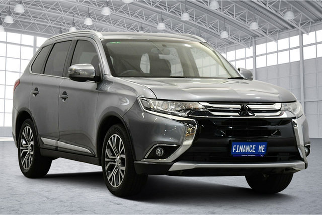 Used Mitsubishi Outlander ZK MY17 LS 2WD Victoria Park, 2016 Mitsubishi Outlander ZK MY17 LS 2WD Titanium 6 Speed Constant Variable Wagon