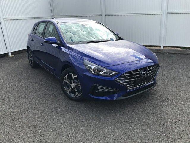 Demo Hyundai i30 PD.V4 MY21 Gladstone, 2021 Hyundai i30 PD.V4 MY21 Blue 6 Speed Sports Automatic Hatchback
