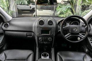 2010 Mercedes-Benz M-Class W164 MY10 ML300 CDI BlueEFFICIENCY White 7 Speed Sports Automatic Wagon