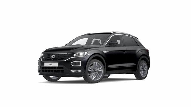 New Volkswagen T-ROC A1 MY21 140TSI DSG 4MOTION Sport Cardiff, 2021 Volkswagen T-ROC A1 MY21 140TSI DSG 4MOTION Sport Deep Black Pearl Effect 7 Speed