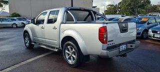 2014 Nissan Navara D40 S7 Titanium Silver 5 Speed Sports Automatic Utility