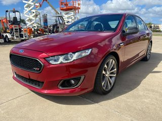 2016 Ford Falcon FG X XR6 Turbo Red/021116 6 Speed Sports Automatic Sedan