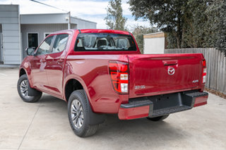 2021 Mazda BT-50 BT-50 B 6MAN 3.0L SINGLE CHASSIS XT 4X4 Red Volcano Cab Chassis.