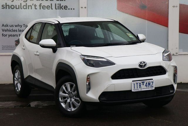 Pre-Owned Toyota Yaris Cross MXPB10R GX 2WD Ferntree Gully, 2021 Toyota Yaris Cross MXPB10R GX 2WD Crystal Pearl 10 Speed Constant Variable Wagon