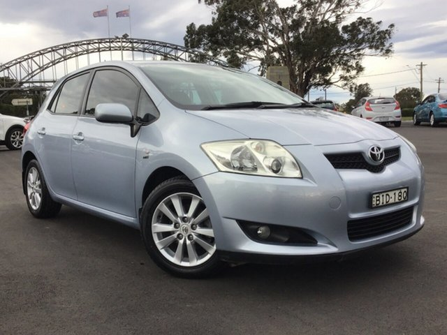 Pre-Owned Toyota Corolla ZRE152R Conquest Warwick Farm, 2008 Toyota Corolla ZRE152R Conquest Blue 4 Speed Automatic Hatchback