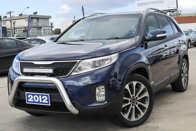 Used Kia Sorento XM MY12 Platinum Coburg North, 2012 Kia Sorento XM MY12 Platinum Blue 6 Speed Sports Automatic Wagon