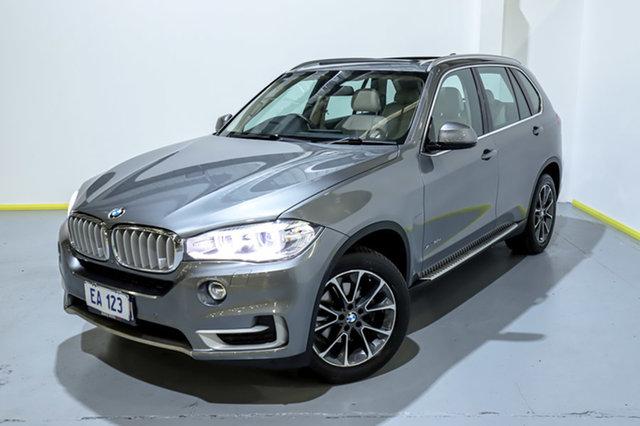 Used BMW X5 F15 xDrive30d Canning Vale, 2014 BMW X5 F15 xDrive30d Grey 8 Speed Sports Automatic Wagon