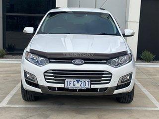 2015 Ford Territory SZ MkII TS Seq Sport Shift White 6 Speed Sports Automatic Wagon.