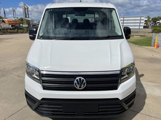 2018 Volkswagen Crafter SY1 MY19 35 LWB FWD TDI410 White/260619 8 Speed Automatic Cab Chassis