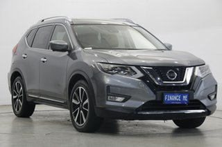 2017 Nissan X-Trail T32 Series II Ti X-tronic 4WD Grey 7 Speed Constant Variable Wagon