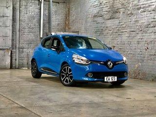 2013 Renault Clio IV B98 Expression Blue 5 Speed Manual Hatchback.