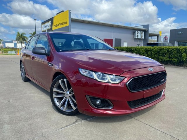 Used Ford Falcon FG X XR6 Turbo Townsville, 2016 Ford Falcon FG X XR6 Turbo Red/021116 6 Speed Sports Automatic Sedan