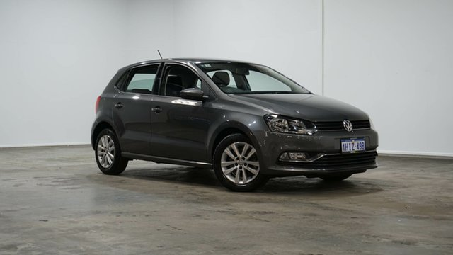 Used Volkswagen Polo 6R MY17 81TSI DSG Comfortline Welshpool, 2017 Volkswagen Polo 6R MY17 81TSI DSG Comfortline Grey 7 Speed Sports Automatic Dual Clutch