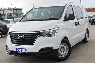 2018 Hyundai iLOAD TQ4 MY19 Crew Cab White 5 Speed Automatic Van.