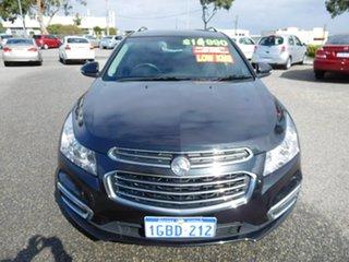 2016 Holden Cruze JH Series II MY16 CDX Sportwagon Black 6 Speed Sports Automatic Wagon.