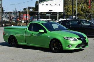 2010 Ford Falcon FG XR6T Green 6 Speed Auto Seq Sportshift Utility.
