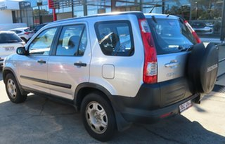 2005 Honda CR-V 2005 Upgrade (4x4) Silver 5 Speed Automatic Wagon