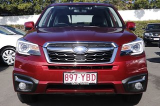 2018 Subaru Forester S4 MY18 2.5i-S CVT AWD Red 6 Speed Constant Variable Wagon.