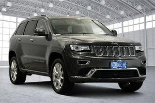 2015 Jeep Grand Cherokee WK MY15 Summit Granite Crystal 8 Speed Sports Automatic Wagon.