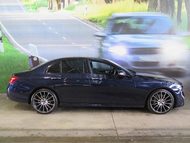Used Mercedes-Benz E-Class W213 808MY E200 9G-Tronic PLUS Osborne Park, 2018 Mercedes-Benz E-Class W213 808MY E200 9G-Tronic PLUS Cavansite Blue 9 Speed Sports Automatic