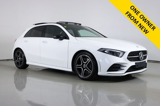 Used Mercedes-Benz A250 177 MY19 4Matic AMG Line Bentley, 2019 Mercedes-Benz A250 177 MY19 4Matic AMG Line White 7 Speed Auto Dual Clutch Hatchback