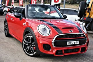 2017 Mini Convertible F57 John Cooper Works Red 6 Speed Sports Automatic Convertible.