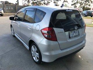 2010 Honda Jazz GE MY10 VTi-S Silver 5 Speed Sports Automatic Hatchback