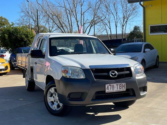 Used Mazda BT-50 UNY0W4 DX 4x2 Toowoomba, 2010 Mazda BT-50 UNY0W4 DX 4x2 White 5 Speed Manual Cab Chassis