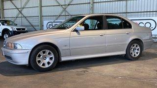 2002 BMW 5 Series E39 MY02 525i Steptronic High-line Executive Silver 5 Speed Sports Automatic Sedan.