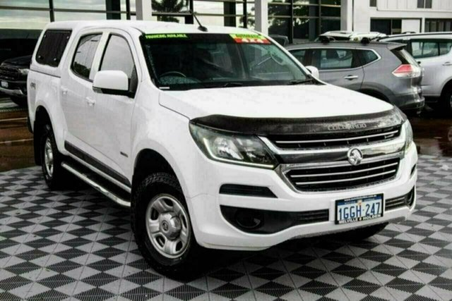 Used Holden Colorado RG MY17 LS Pickup Crew Cab Attadale, 2017 Holden Colorado RG MY17 LS Pickup Crew Cab White 6 Speed Sports Automatic Utility