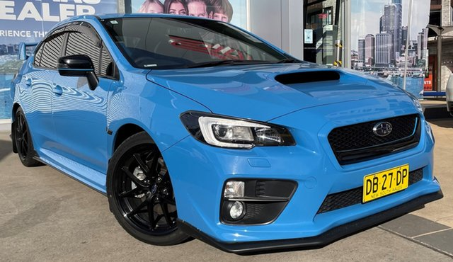 Used Subaru WRX MY16 Premium Hyper Blue (AWD) Rosebery, 2016 Subaru WRX MY16 Premium Hyper Blue (AWD) Hyper Blue 8 Speed CVT Auto 8 Speed Sedan