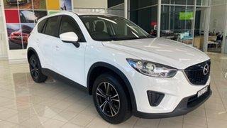 2013 Mazda CX-5 KE1031 MY13 Maxx SKYACTIV-Drive AWD White 6 Speed Sports Automatic Wagon.