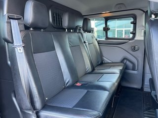 2019 Ford Transit Custom VN 2019.75MY 320L (Low Roof) Sport Black 6 Speed Automatic Double Cab Van