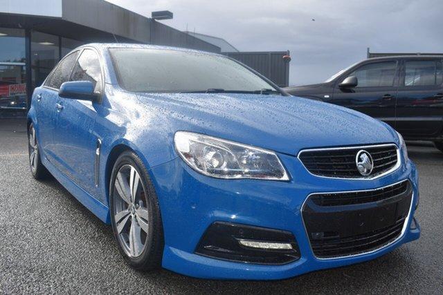 Used Holden Commodore VF MY15 SV6 Wantirna South, 2015 Holden Commodore VF MY15 SV6 Blue 6 Speed Sports Automatic Sedan