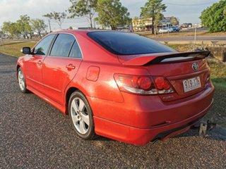 2007 Toyota Aurion GSV40R Sportivo SX6 Red 6 Speed Sports Automatic Sedan